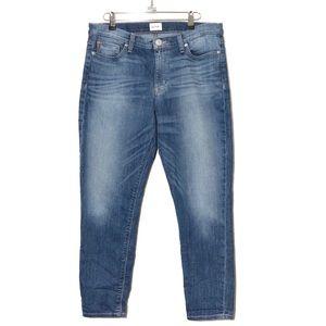Hudson Krista Super Skinny Crop Jeans Size 31